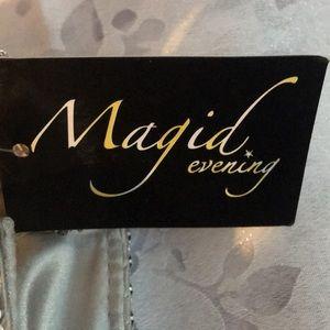 Magid Evening Bags - Magid Silver Evening Bag Clutch